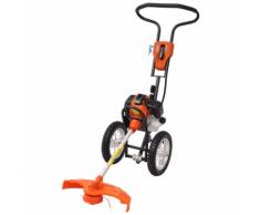 vidaXL Débroussailleuse à 2 temps roues 1,9 kW 52 cc 2,6 ch