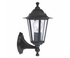 """EGLO - Lampe d'extérieur en applique """"Laterna"""" montante noire"""