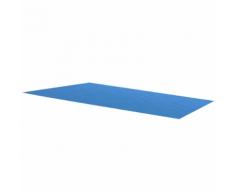 vidaXL Bâche de piscine bleue rectangulaire en PE 549 x 274 cm