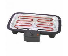 Tristar Barbecue électrique de table BQ-2813 38 x 22 cm 2000 W Noir