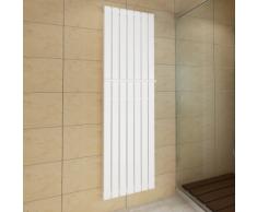 vidaXL Porte-serviette 542mm+ Radiateur panneau blanc Double épaisseur