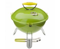 Landmann Barbecue au charbon Piccolino 34 cm Vert citron