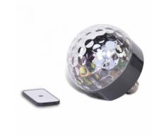 Party Fun Lights Ampoule haut-parleur Bluetooth LED avec télécommande