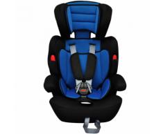 vidaXL Siège auto pour enfants 9-36kg bleu/noir