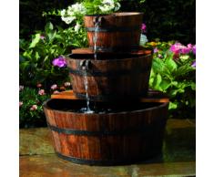 Ubbink Fontaine de jardin 3 Tonneaux en cascade