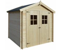 vidaXL Maison de jardin cabane d'abri en bois 2x2,1 m