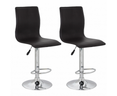 vidaXL Tabouret design Flow (lot de 2)