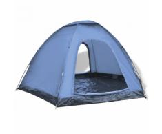 vidaXL Tente pour 6 personnes Bleu
