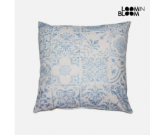 MPC Coussin Bleu (60 x 60 cm) - Collection Queen Deco by Loom In Bloom