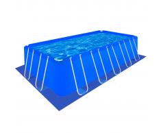 vidaXL Tapis de sol pour piscine en PE Rectangulaire 570 x 295 cm