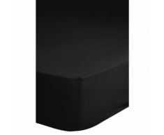 Emotion Drap-housse sans repassage 140 x 200 cm Noir 0220.04.44