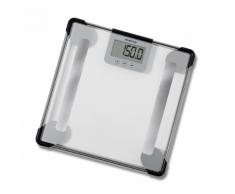 Inventum pèse-personne analyseur du corps en verre transparent PW705GB