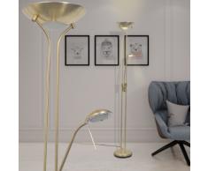 vidaXL Lampadaire à LED éclairage réglable 23 W
