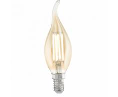EGLO Ampoule LED style vintage E14 CF37 Amber 11559