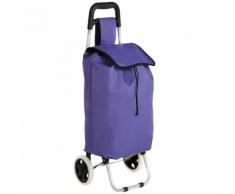 Not specified Caddie poussette de marché à provisions pliable violet