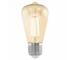 EGLO Ampoule LED style vintage E27 ST48 Amber 11553