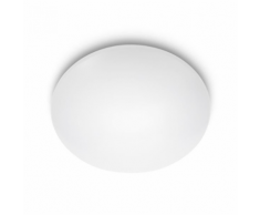 Philips Plafonnier LED myLiving Suede Blanc 4 x 3 W 318013116