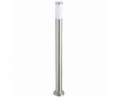 SMARTWARES Borne d'éclairage de jardin 20 W Chrome 110 cm RX1010-110