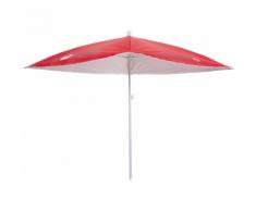 Pure2Improve Parasol anti-UV 170 cm Rouge