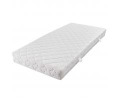 vidaXL Matelas avec une couverture lavable 200 x 140 17cm