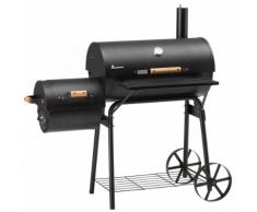 Landmann Fumeur de barbecue Tennessee 200 66 x 37 cm Noir