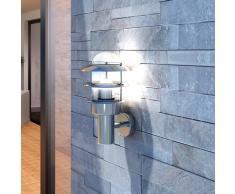 vidaXL Applique mural extérieur/ intérieur en acier inoxydable