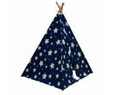 SUNNY Tente Cosmo brillant la nuit Bleu foncé et blanc C052.102.01