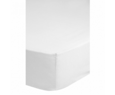 Emotion Drap-housse sans repassage 180 x 200 cm Blanc 0220.00.46