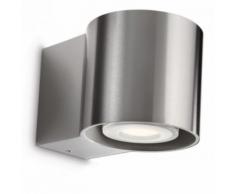 Philips - Lampe extérieure Bumblebee LED IP44 H9 cm Inox