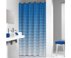 Sealskin Rideau de douche Speckles 180 cm Bleu royal 233601323