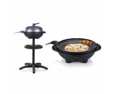 Tristar Barbecue électrique de table avec support BQ-2823 1600 W 42 cm Noir