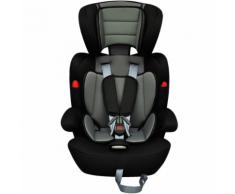 vidaXL Siège auto pour enfants 9-36kg gris/noir