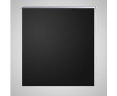 vidaXL Store enrouleur occultant noir 40 x 100 cm