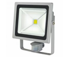 Brennenstuhl Projecteur LED L CN 150 PIR V2 IP44 50 W