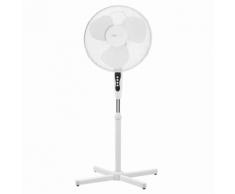 Clatronic Ventilateur sur pied VL 3603 S 40 cm 45 W Blanc