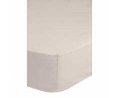 Emotion Drap-housse sans repassage 180 x 200 cm Sable 0220.06.46