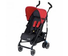 """Safety 1st Poussette pour bébé """"Compa City"""" Noir et rouge"""