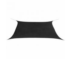 vidaXL Parasol en tissu Oxford rectangulaire 2x4 m Anthracite