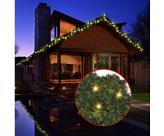 vidaXL Guirlande de Noël avec lumières LED 10 m
