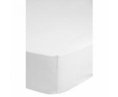 Emotion Drap-housse sans repassage 140 x 200 cm Blanc 0220.00.44