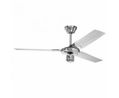 AEG Ventilateur de plafond D-VL 5666 122 cm 60 W Argenté