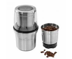 ProfiCook Moulin à café / Hachoir électrique 200 W argenté