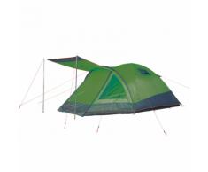 """Camp Gear Tente pour 3 personnes """"Rio Grande"""" 355 x 210 130 cm Vert"""