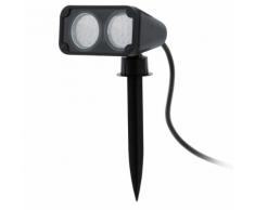 """EGLO Projecteur LED d'extérieur """"Nema 1"""" 6 W Noir"""