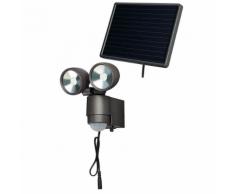 Brennenstuhl Projecteur solaire LED SOL 2 x 4 Anthracite W