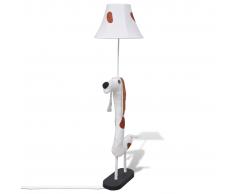 vidaXL Lampe Abat-jour Chien Décoration Intérieure