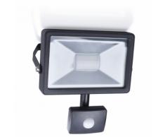 SMARTWARES Projecteur LED avec capteur 20 W Noir SL1-B20B