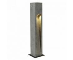 SLV - Borne extérieur basalte Arrock Stone LED IP44 H75 cm