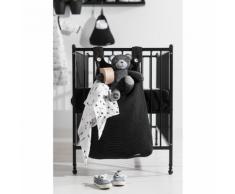 Jollein Sac de rangement pour aire jeu 40 x 10 50 cm Noir Tricot
