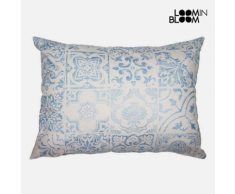 MPC Coussin Bleu (50 x 70 cm) - Collection Queen Deco by Loom In Bloom